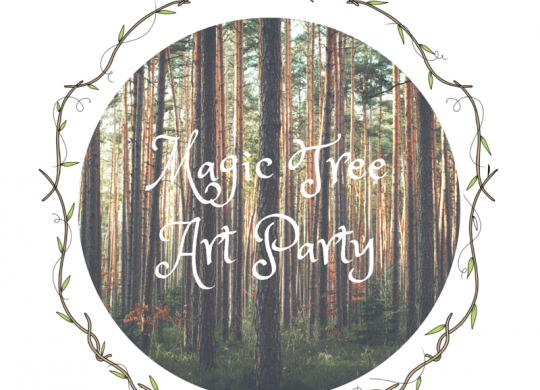 magic tree art party