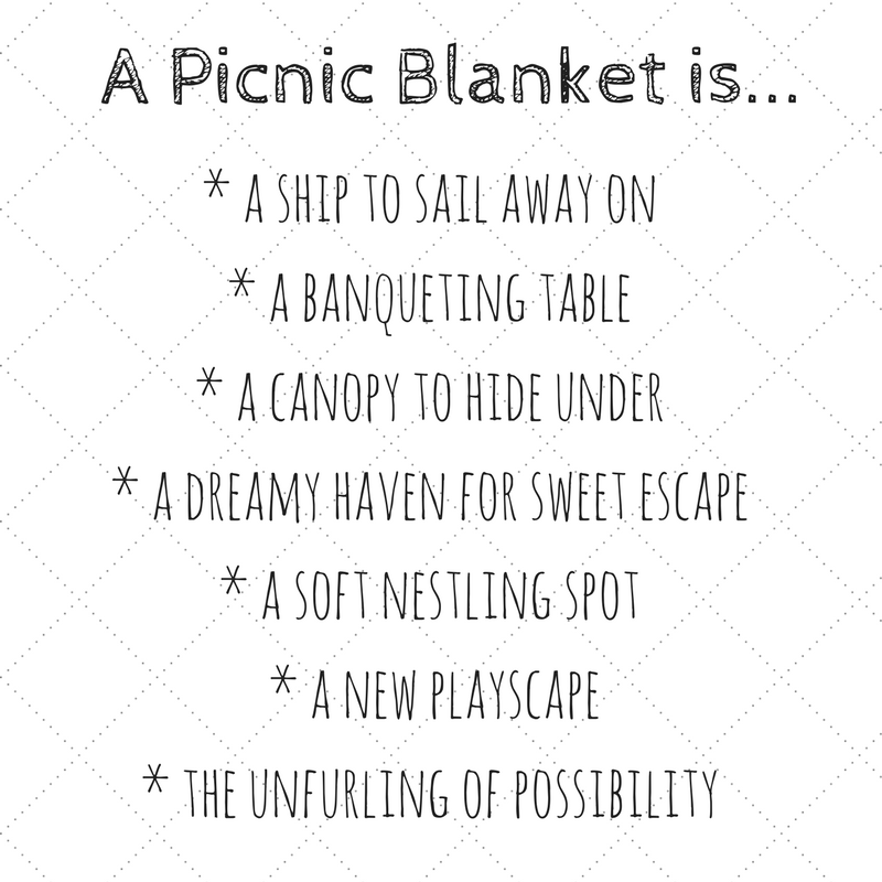 Copy of a picnic blanket is